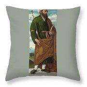 Saint Joseph Throw Pillow