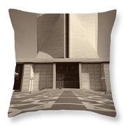 Saint Mary's Cathedral Of San Francisco Throw Pillow