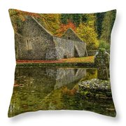 Saint Patrick's Well Throw Pillow