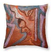 Salon - Tile Throw Pillow