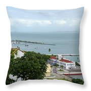 Salvador Da Bahia - Brazil Throw Pillow