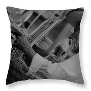 Salvadorean Handcrafter Throw Pillow