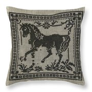 Sampler Throw Pillow