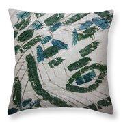 Samson - Tile Throw Pillow