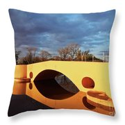 San Antonio De Areco, Argentina Throw Pillow