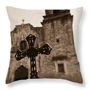 San Antonio Throw Pillow