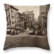 San Francisco 1945 Throw Pillow