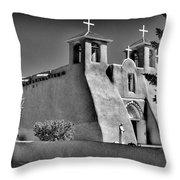 San Francisco De Asis Mission Church Throw Pillow