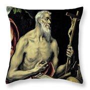 San Jeronimo Throw Pillow