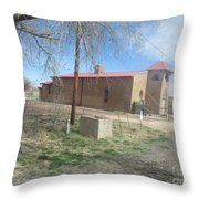 San Rafael Church Throw Pillow