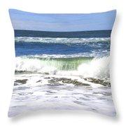 Sand And Sea 1 Throw Pillow