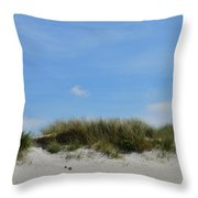 Sand Dunes At Keremma Throw Pillow