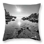 Sand Harbor Star Throw Pillow