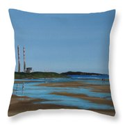 Sandymount Strand Throw Pillow