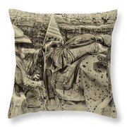 Santa Fe Cowboy Throw Pillow