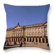 Santiago De Compostela Galicia Spain Throw Pillow