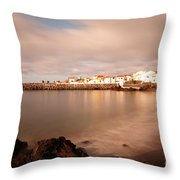 Sao Roque At Sunrise Throw Pillow