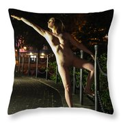 Satine Spark Throw Pillow