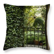 Savannah Gate Throw Pillow