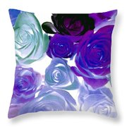 Scent By The Dozen Throw Pillow