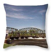 Schenectady Lock 8 Throw Pillow