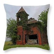 School Is Out Throw Pillow