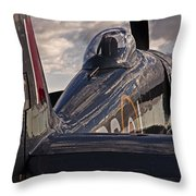 Sea Fury Reflections Throw Pillow