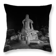 Sea Lions Throw Pillow