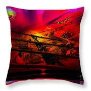 Sea Romantic - Sailing Ship 3 Throw Pillow