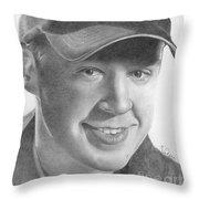 Sean Murray Throw Pillow