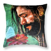 Searching The Meaning Of Life Throw Pillow