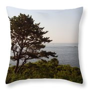 Seaside Pine Throw Pillow