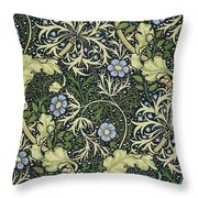 Seaweed Pattern Throw Pillow