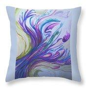 Seaweedy Throw Pillow
