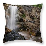 Secret Falls Throw Pillow