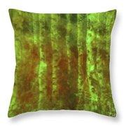 Secret Forest Throw Pillow