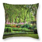 Secret Garden    Op Throw Pillow