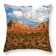 Sedona Mountains Arizona Throw Pillow