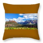 Sedona Panorama Throw Pillow