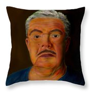 Selfportrait Throw Pillow