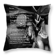 Service Throw Pillow