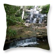 Set Rock Creek Falls Throw Pillow