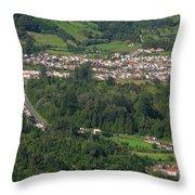 Sete Cidades - Azores Throw Pillow