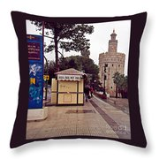 Sevilla-90 Throw Pillow