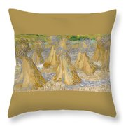 Sheaves Of Wheat Throw Pillow