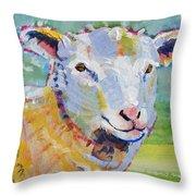 Sheep Head Throw Pillow