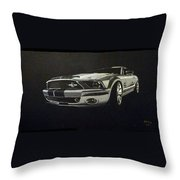Shelby Mustang Front  Throw Pillow