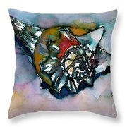 Shell Collection Throw Pillow