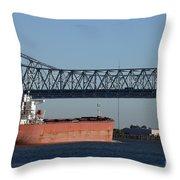 Shipping - New Orleans Louisiana Throw Pillow