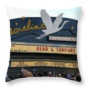 Shoreline Amphitheatre - Dead And Company Throw Pillow